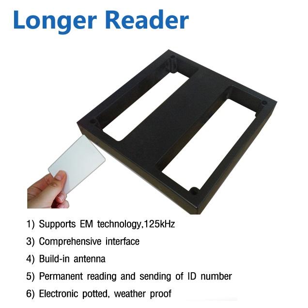longer reader hip เครื่องอ่านการ์ดทาบบัตร ด้วย Card 50-100 เซนติเมตร 1