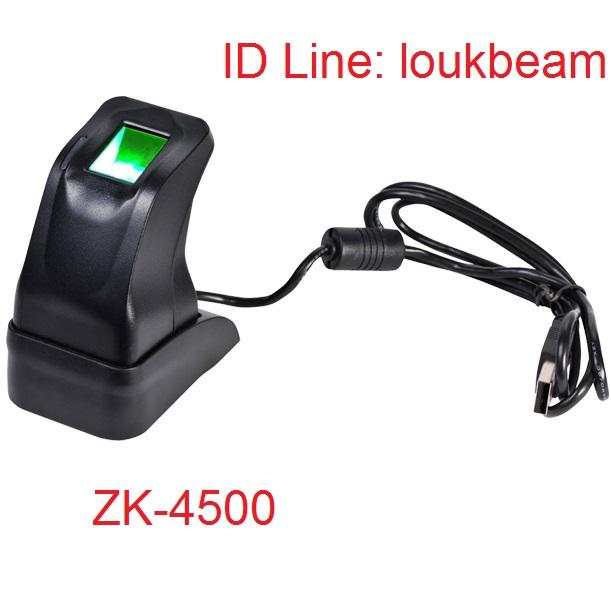 ZK4500 เครื่องสแกนลายนิ้วมือ ฟรี SDK ราคาถูกกว่าเดิม ยิ่งซื้อยิ่งถูก ขายต่อได้อีกด้วยนะครับ 3