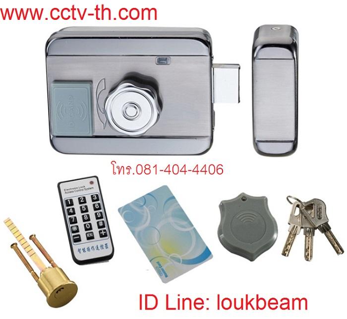 Electric motor lock การ์ด รีโมท กุญแจ Proximity card ติดตั้งแถมฟรี รีโมทควบคุมระยะไกล RFID remote 1