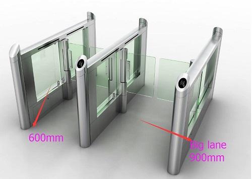 ประตูปีกผีเสื้อรุ่นหรู พร้อมช่อง wheelchair ช่องสำหรับผู้พิการ 1