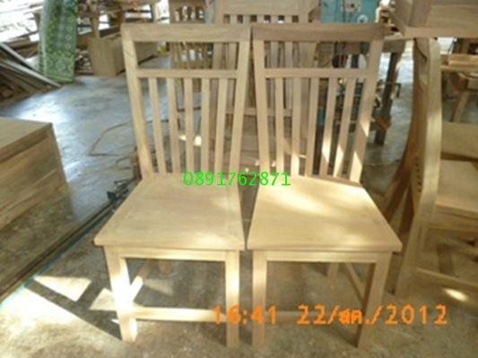 เก้าอี้ไม้สัก8