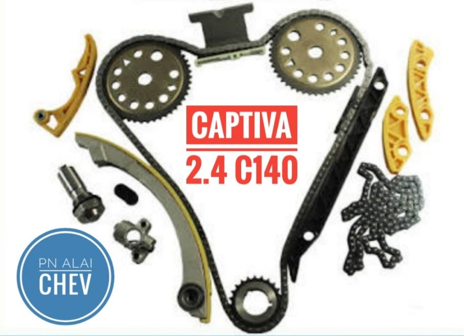 ชุดโซ่ไทม์มิ่ง CAPTIVA 2.4 / C140  และ ZAFIRA 2.2 (ครบชุดทั้งชุดบน-ล่าง)