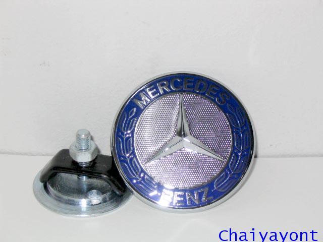 ดาวสีฝาประโปรงหน้าชุดแต่ง ดาวเบนซ์ โลโก้เบนซ์ Mercedes - Benz สำหรับ C-Class C180 C200 C220 C240
