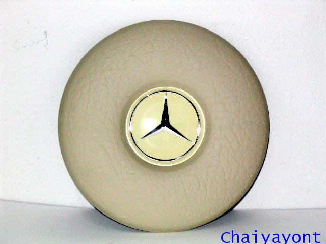 วงกดแตรพวงมาลัยสีครีมเบนซ์ Mercedes - Benz W114 W115 200/8