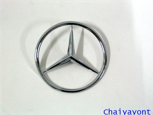 ดาวฝากระโปรงท้ายรถเบนซ์ ดาวเบนซ์ โลโก้เบนซ์ Mercedes - Benz Classic W107 280SLC 350SLC 380SLC 450SCL