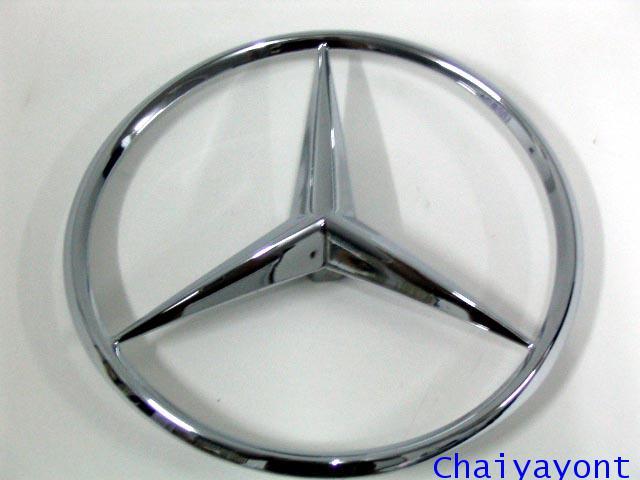 ดาวฝากระโปรงท้ายรถเบนซ์ ดาวเบนซ์ โลโก้เบนซ์ Mercedes-Benz Classic W110 W111 190C 220C 250C 280SE