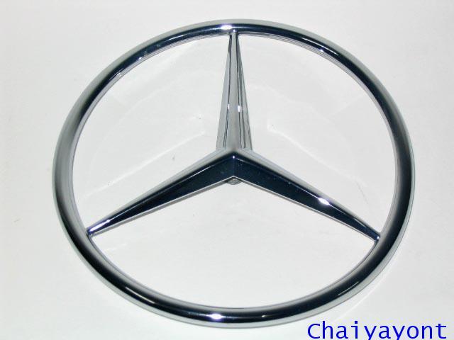 ดาวฝากระโปรงท้ายรถเบนซ์ ดาวเบนซ์ โลโก้เบนซ์ Mercedes-Benz  W116 280SEL 350SEL 450SEL