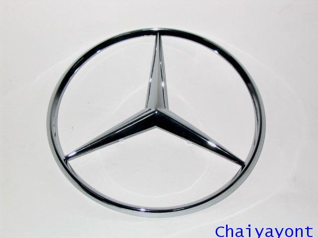 ดาวฝากระโปรงท้ายรุ่นใช้กิ๊ปประกบสำหรับรถเบนซ์ ดาวเบนซ์ โลโก้เบนซ์ Mercedes-Benz W126 280SEL S-Class