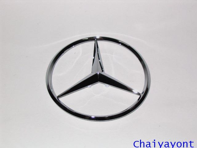 ดาวฝากระโปรงท้ายรถเบนซ์ ดาวเบนซ์ โลโก้เบนซ์ Mercedes - Benz New Eye W210 E230 E240