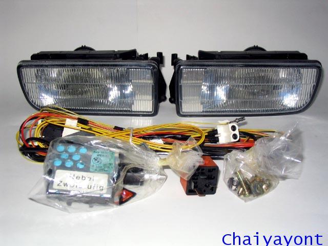 ชุดแต่งไฟสปอร์ตไลท์ ชุดแต่งไฟตัดหมอกรถบีเอ็มดับบลิว BMW 316i 318i 325i E36 Compact Series 3