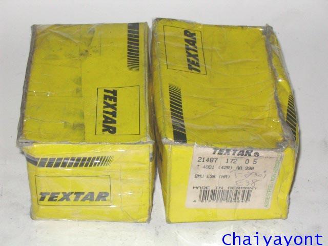 ผ้าเบรคหน้า Textar รถบีเอ็ม BMW 720i 730i 740i E38