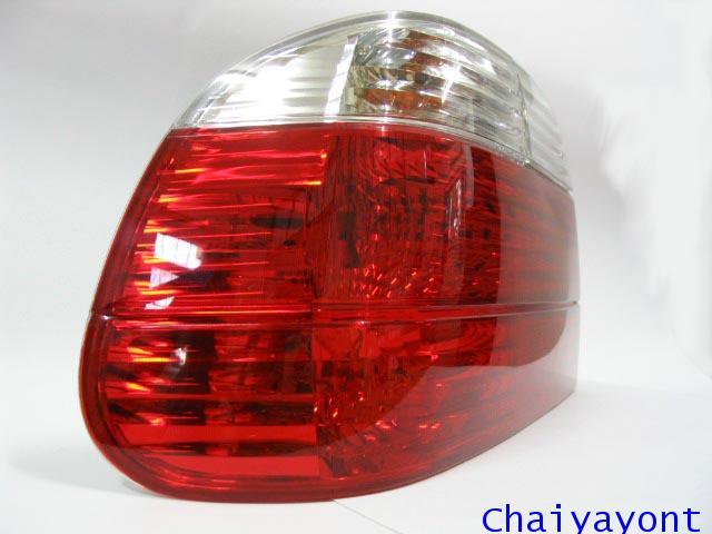 ไฟท้ายด้านซ้ายตาเพชรใสสีขาวแดงรถบีเอ็มดับบลิว BMW E38 728i 730i 730iL 735i 735iL 740i 740iL Series 7 2