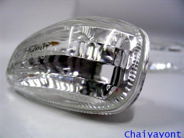 ชุดแต่งไฟหรี่ข้างประตูตาเพชร สีขาวรถเบนซ์นิวอาย Mercedes - Benz W210 E230 E240 New Eye