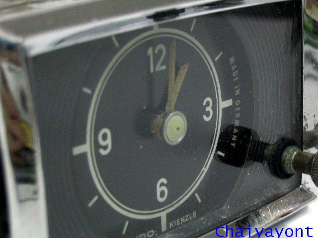 นาฬิกาหน้าปัดเรือนไมล์รถเบนซ์ท้ายมน Classic Auto Vintage Mercedes-Benz Ponton 180 190 190S 190SL 1