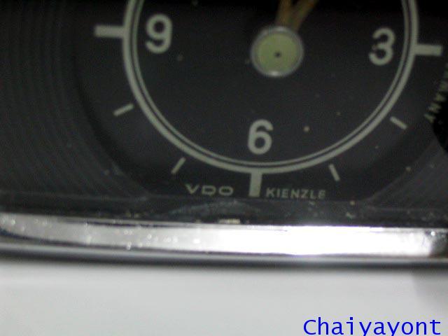นาฬิกาหน้าปัดเรือนไมล์รถเบนซ์ท้ายมน Classic Auto Vintage Mercedes-Benz Ponton 180 190 190S 190SL 3