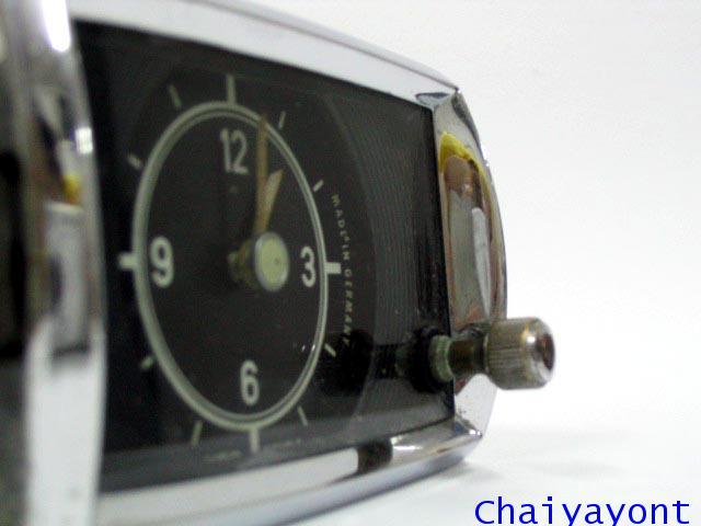นาฬิกาหน้าปัดเรือนไมล์รถเบนซ์ท้ายมน Classic Auto Vintage Mercedes-Benz Ponton 180 190 190S 190SL 2