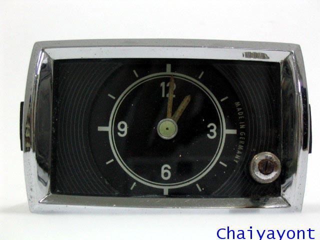 นาฬิกาหน้าปัดเรือนไมล์รถเบนซ์ท้ายมน Classic Auto Vintage Mercedes-Benz Ponton 180 190 190S 190SL 6