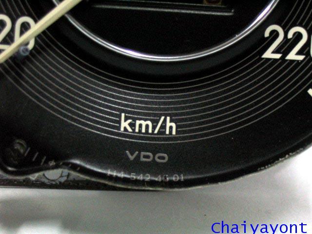 หน้าปัดเรือนไมล์ เกจความเร็ว รถเบนซ์ตั๊กแตนคลาสสิคโบราณ Mercedes-Benz W108 W109 250S 280SEL 300SEL 3