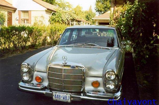 ไฟเลี้ยว U.S. รถเบนซ์ตั๊กแตนคลาสสิคโบราณ Classic Vintage Mercedes-Benz W108 W109 W111 280SEL 300SEL 1