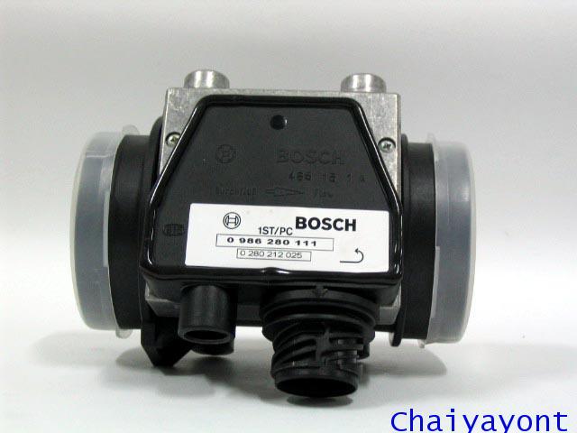 แอร์โฟล์เซ็นเซอร์ Bosch Air Mass Meter , Air Flow Sensor รถบีเอ็มดับบลิว BMW 520i 525i E34 Series5