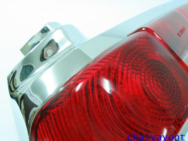 ไฟท้ายรถเบนซ์หางปลาคลาสสิค Classic Vintage Mercedes-Benz W110 W111 190C 190Dc 200C 200Dc 220C 220SEC 3