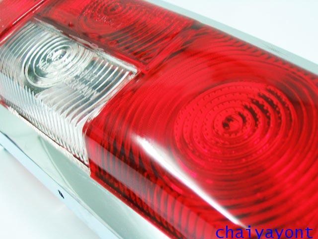 ไฟท้ายรถเบนซ์หางปลาคลาสสิค Classic Vintage Mercedes-Benz W110 W111 190C 190Dc 200C 200Dc 220C 220SEC 5