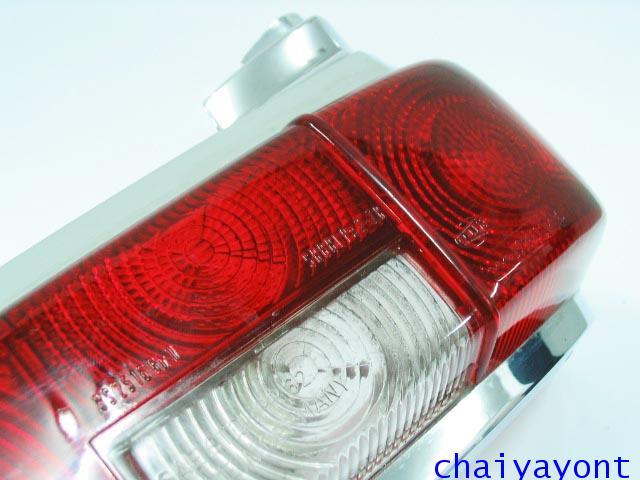 ไฟท้ายรถเบนซ์หางปลาคลาสสิค Classic Vintage Mercedes-Benz W110 W111 190C 190Dc 200C 200Dc 220C 220SEC 10