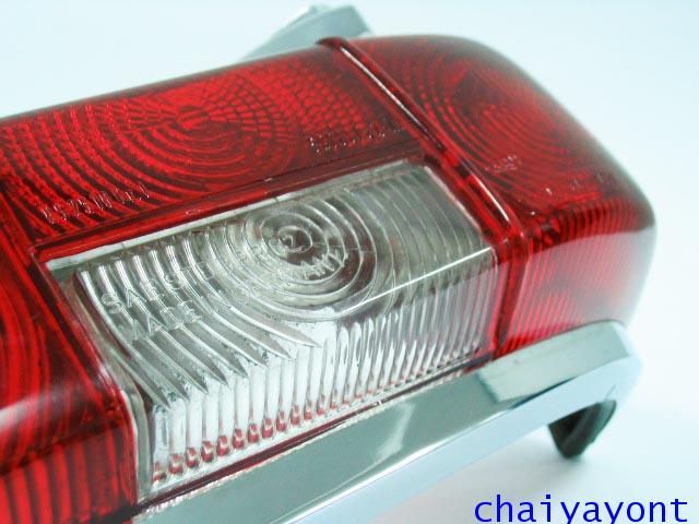 ไฟท้ายรถเบนซ์หางปลาคลาสสิค Classic Vintage Mercedes-Benz W110 W111 190C 190Dc 200C 200Dc 220C 220SEC 11