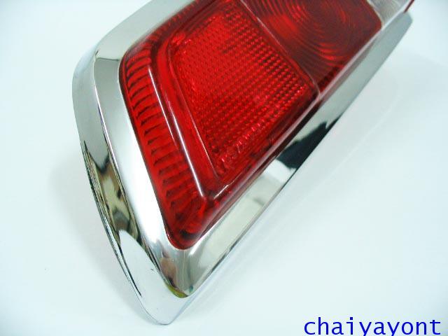 ไฟท้ายรถเบนซ์หางปลาคลาสสิค Classic Vintage Mercedes-Benz W110 W111 190C 190Dc 200C 200Dc 220C 220SEC 16