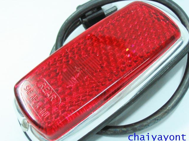 ไฟหรี่ข้างบังโกลนหลัง สีแดง รถเบนซ์โบราณคลาสสิค Pagoda Mercedes-Benz W113 230SL 250SL 280SL
