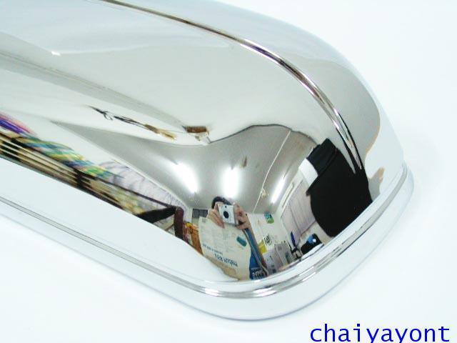 ประดับยนต์ชุดแต่ง ครอบกระจกมองข้างโครเมี่ยม รถเบนซ์ Mercedes-Benz W210 E230 E280 New Eye