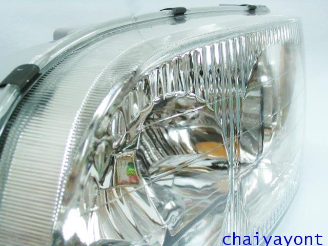 ไฟหน้าขวาทั้งดวง แบบใส ไฟหน้าเพชร OEM Ssanyong Mercedes-Benz MB100 MB140 14