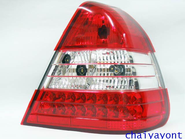 ประดับยนต์ชุดแต่งรถ ไฟท้ายขวา LED เพชร รถเบนซ์ Mercedes-Benz W202 C180 C200 C220 C240 C280 C-Class