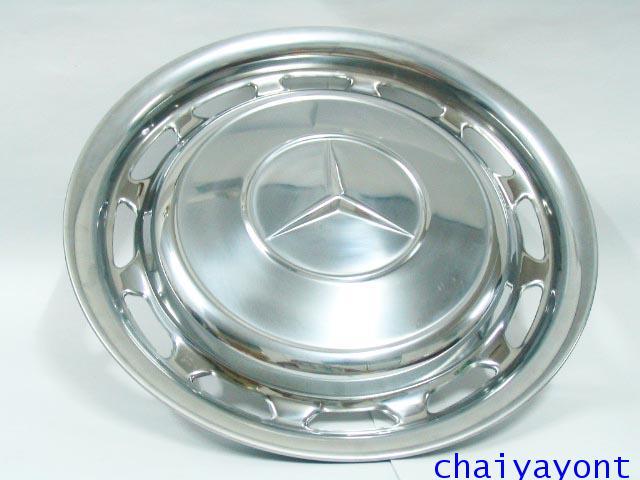 """ฝาครอบดุมล้อ 14"""" OEM รถเบนซ์คลาสสิค Classic Mercedes-Benz W114/8 W115 200D 220D 230.4 230.6 240"""