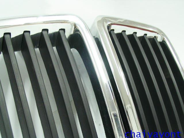 ตะแกรงหน้ากระจัง กระจังหน้า รถบีเอ็มดับบลิวคลาสสิคโบราณ Classic BMW E28 518i 520 520i 525i M10 M20