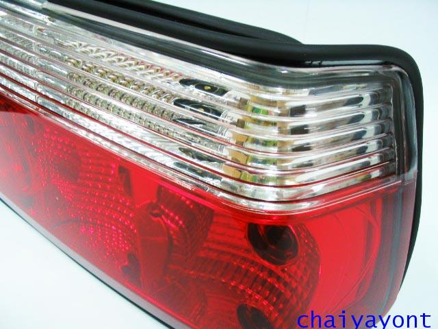 ประดับยนต์ชุดแต่งรถ ไฟท้าย LED ใสตาเพชรรถบีเอ็ม BMW E36 316i 318i 320i 325i  M40 M43 M50 Series 3