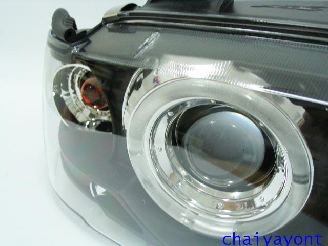 ชุดแต่งรถ ไฟหน้าวงแหวนโดนัท Projector รถบีเอ็ม BMW E36 316i 318i 320i 325i  M40 M43 M50 Series 3
