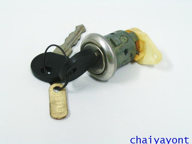 ไส้กุญแจประตูบีเอ็มรุ่นเก่า รถบีเอ็มดับบลิวคลาสสิคโบราณ Classic BMW E12 518i 520 525 528 M10 M20