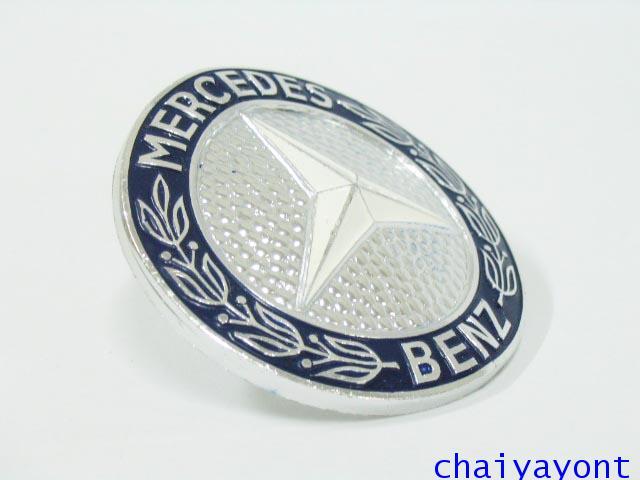 ดาวสีฝากระจังหน้า โลโก้กระจังหน้ารถเบนซ์จัมโบ้คลาสสิค Mercedes-Benz W116 280SEL 350SEL 450SEL 500SEL