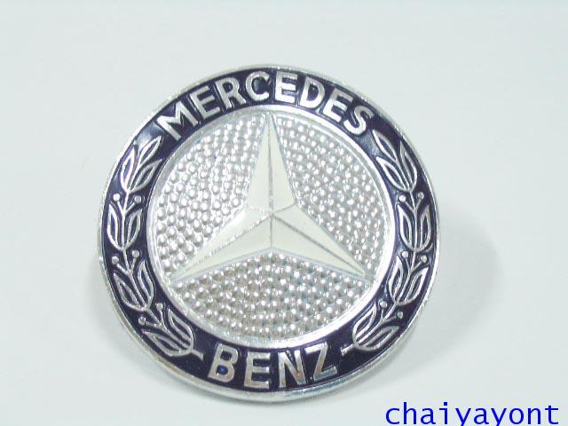 ดาวสีฝากระจังหน้า โลโก้กระจังหน้ารถเบนซ์จัมโบ้คลาสสิค Mercedes-Benz W116 280SEL 350SEL 450SEL 500SEL 1