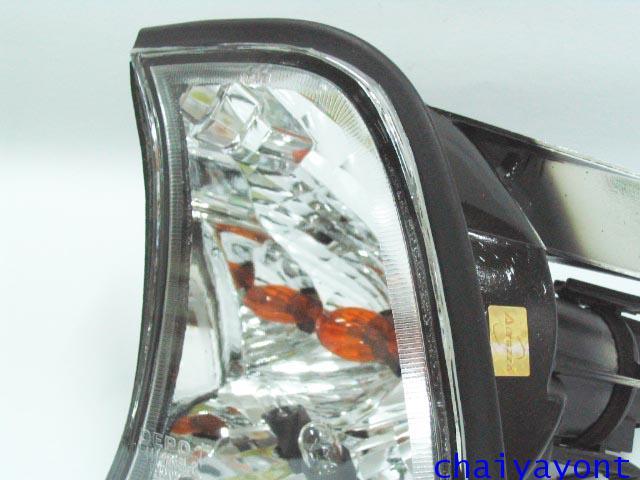 ประดับยนต์ชุดแต่งไฟเลี้ยวเพชร LH รถบีเอ็มดับบลิว BMW E34 518i 520i 525i 530i M43 M50 M5 Serires 5 10