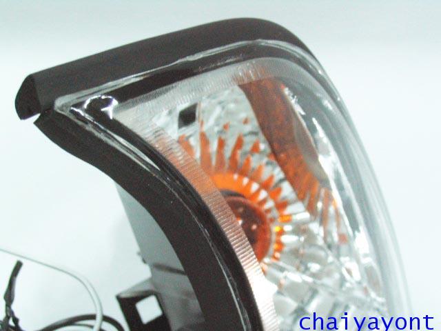 ประดับยนต์ชุดแต่งไฟเลี้ยวเพชร LH รถบีเอ็มดับบลิว BMW E34 518i 520i 525i 530i M43 M50 M5 Serires 5 12