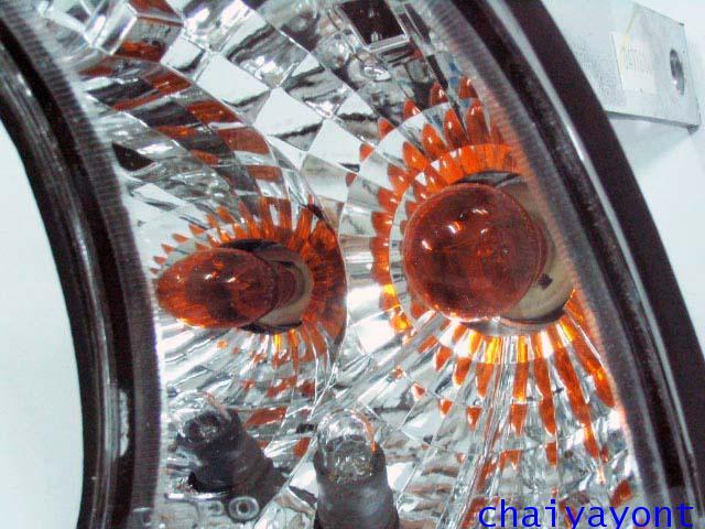 ประดับยนต์ชุดแต่งไฟเลี้ยวเพชร LH รถบีเอ็มดับบลิว BMW E34 518i 520i 525i 530i M43 M50 M5 Serires 5 19