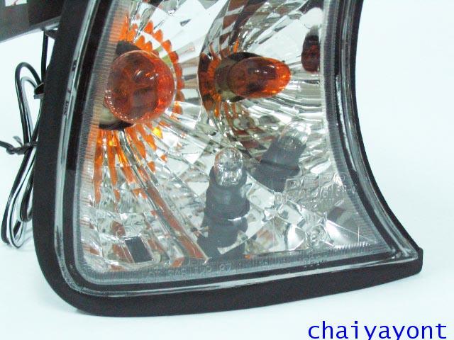 ประดับยนต์ชุดแต่งไฟเลี้ยวเพชร RH รถบีเอ็มดับบลิว BMW E34 518i 520i 525i 530i M43 M50 M5 Serires 5 5