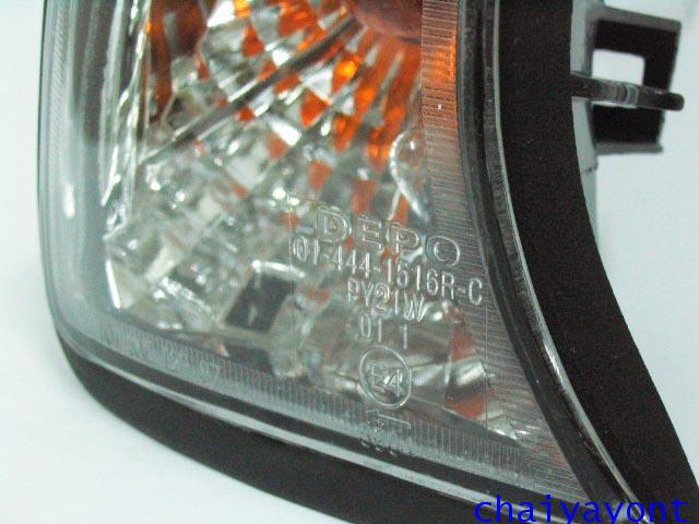 ประดับยนต์ชุดแต่งไฟเลี้ยวเพชร RH รถบีเอ็มดับบลิว BMW E34 518i 520i 525i 530i M43 M50 M5 Serires 5 7