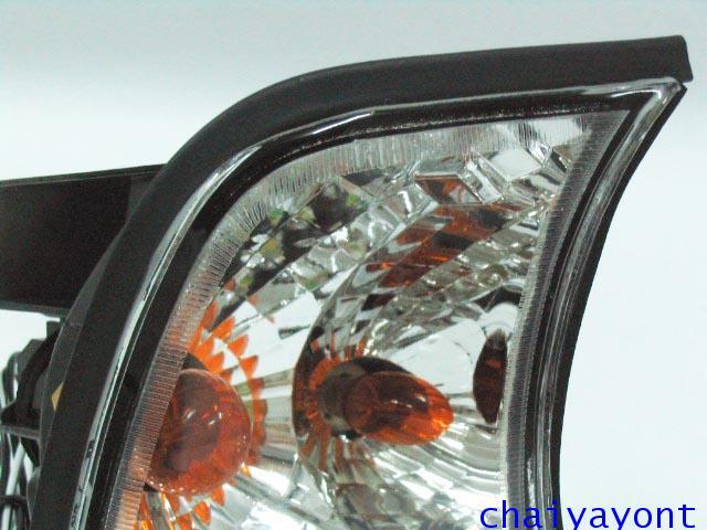 ประดับยนต์ชุดแต่งไฟเลี้ยวเพชร RH รถบีเอ็มดับบลิว BMW E34 518i 520i 525i 530i M43 M50 M5 Serires 5 8