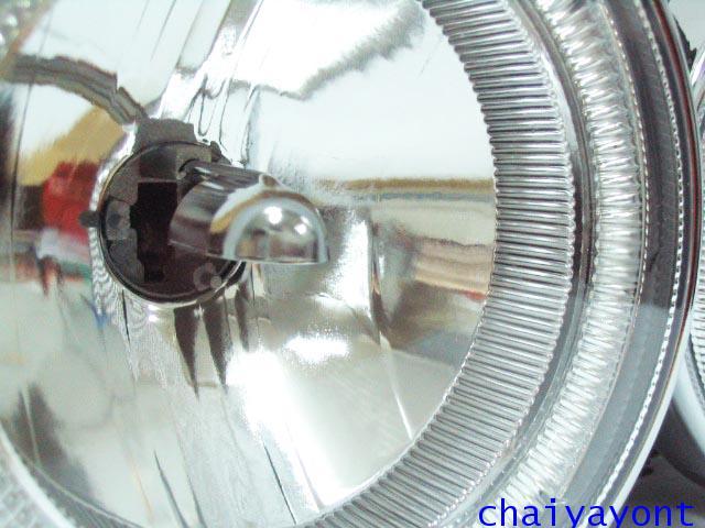 ชุดแต่งรถไฟหน้า LH วงแหวนโดนัท Projector รถบีเอ็ม BMW E34 518i 520i 525i 530i M43 M50 M5 Serires 5 6