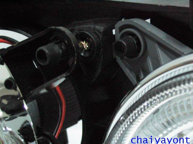 ชุดแต่งรถไฟหน้า LH วงแหวนโดนัท Projector รถบีเอ็ม BMW E34 518i 520i 525i 530i M43 M50 M5 Serires 5 10