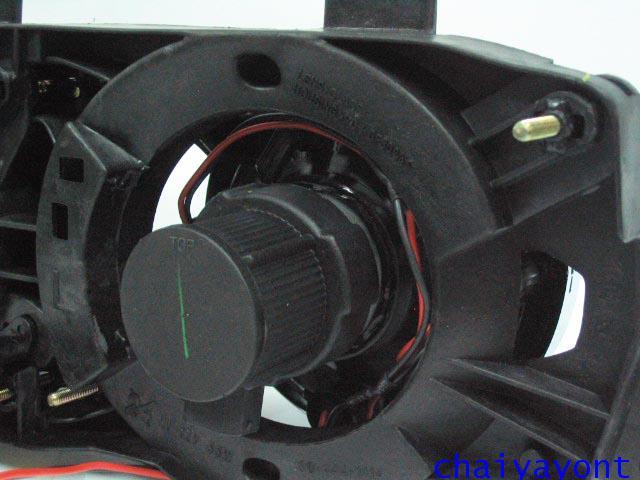 ชุดแต่งรถไฟหน้า LH วงแหวนโดนัท Projector รถบีเอ็ม BMW E34 518i 520i 525i 530i M43 M50 M5 Serires 5 14