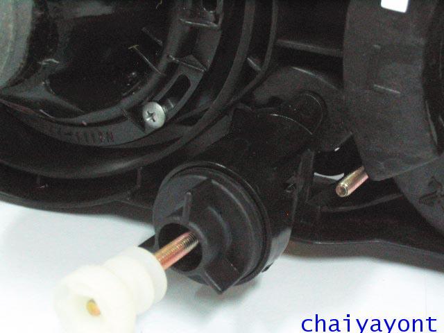 ชุดแต่งรถไฟหน้า LH วงแหวนโดนัท Projector รถบีเอ็ม BMW E34 518i 520i 525i 530i M43 M50 M5 Serires 5 15